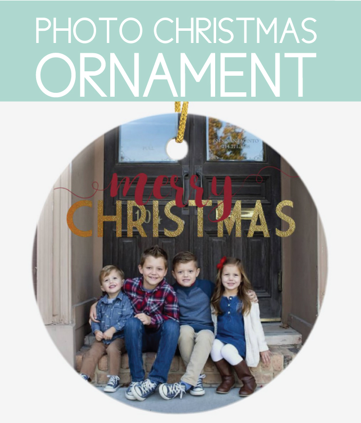 how to make photo holiday gifts Christmas Ornament