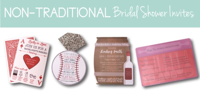 Non-Traditional Bridal Showers: 6 New Invitation Ideas