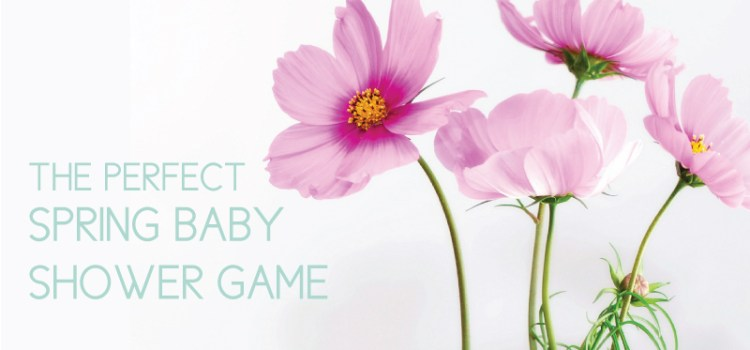 Spring Baby Shower Game