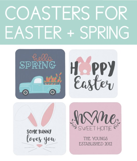 Coasters for Easter and Spring