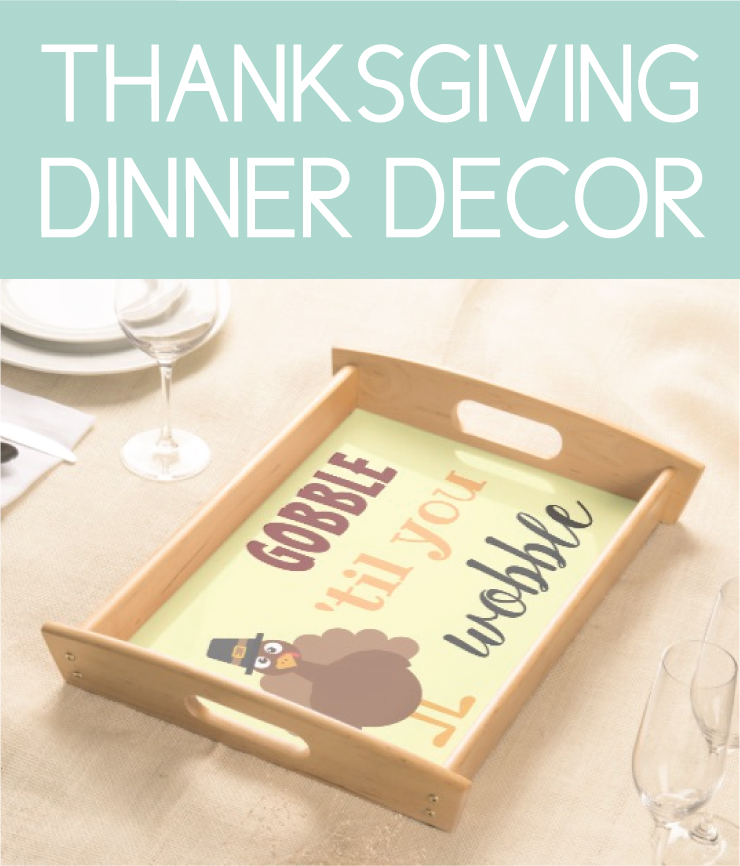 Everything you need for Thanksgiving Dinner