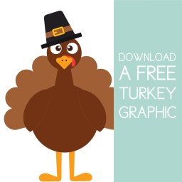 Download a free turkey graphic on the Journey Junkies page