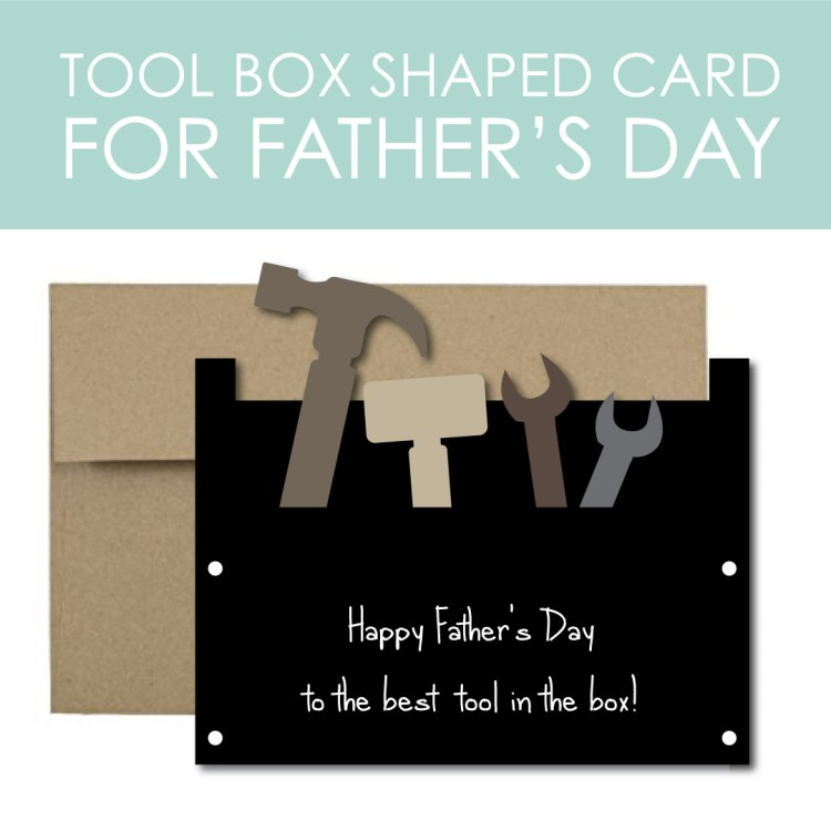 Tool Box Card for Father's Day