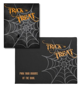 Trick-or-Treat Door Mat