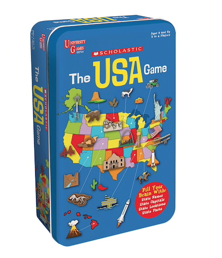 Learn about the 50 states with this USA Game