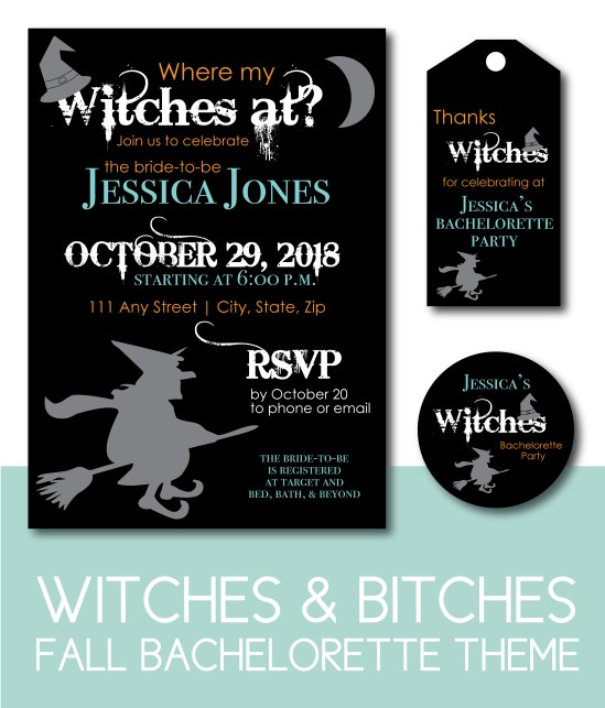 Where My Witches At? Fall Bachelorette Theme