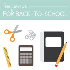 Download free graphics for back-to-school