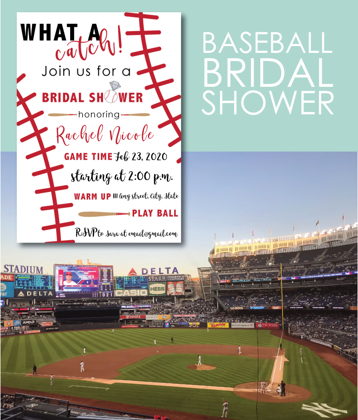 Attend a Baseball Game for your Bridal Shower
