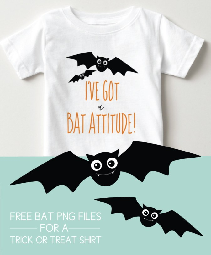 Halloween shirts for kids with free bat graphic