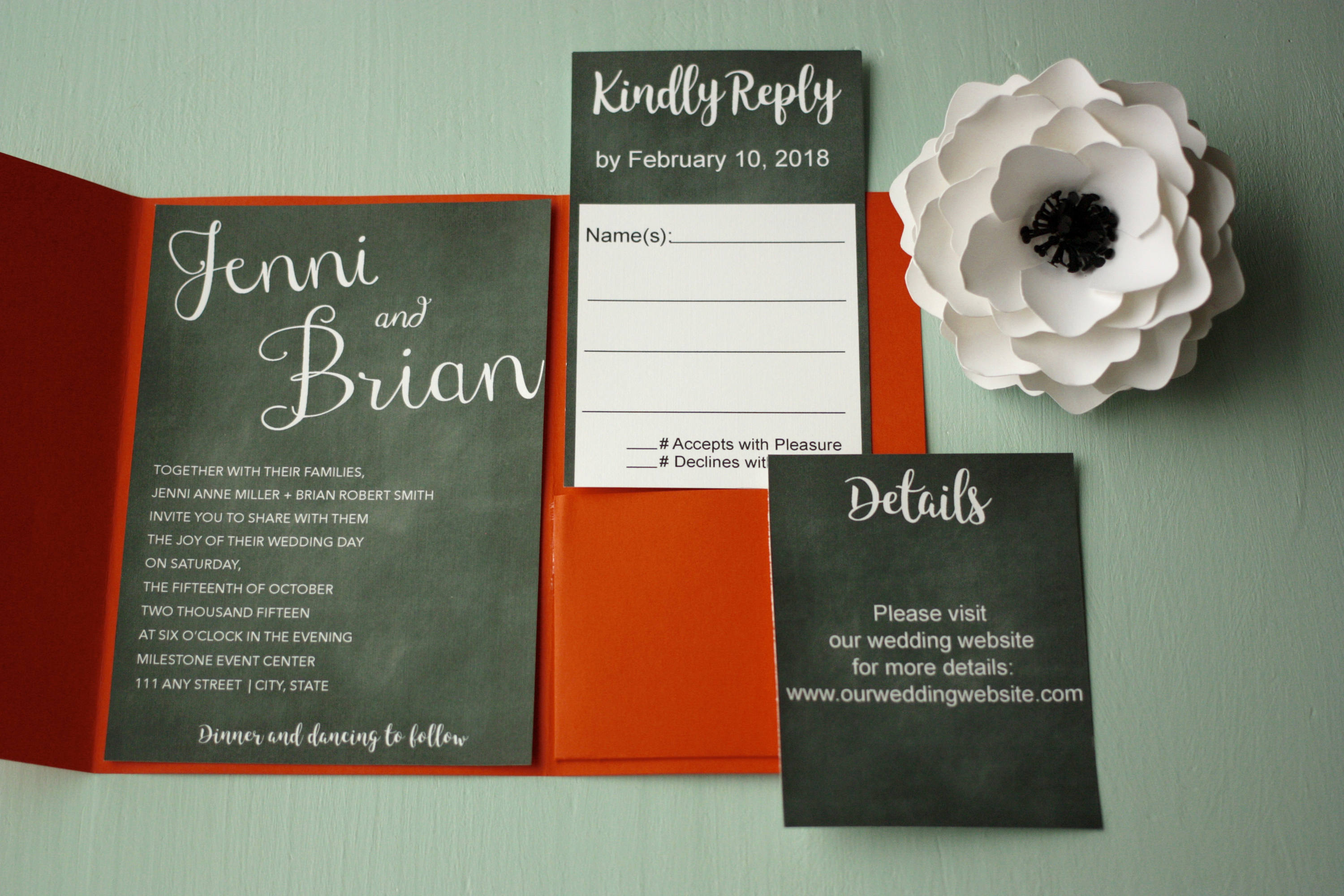 Beautiful Wedding Invitation Etiquette Family Photos - Invitations ...