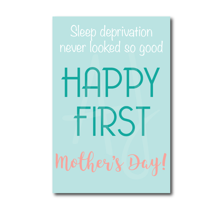 Mother's day card for the new mom