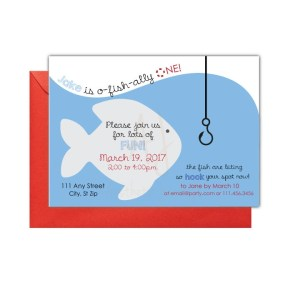 Fishing Party Invite