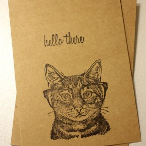 Cat themed cards