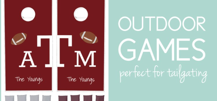 Outdoor games for labor day and fall