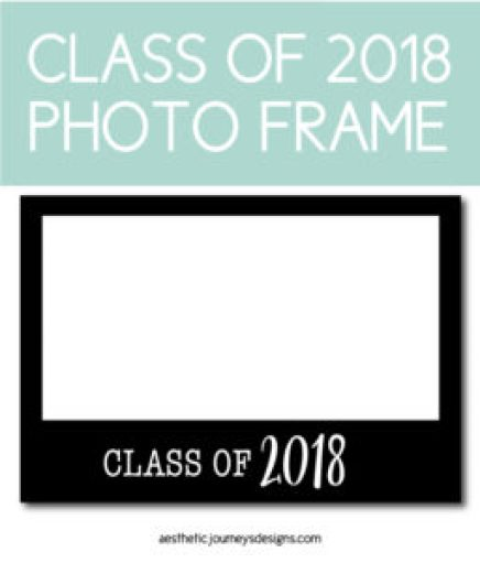 Class of 2018 Photo Frame