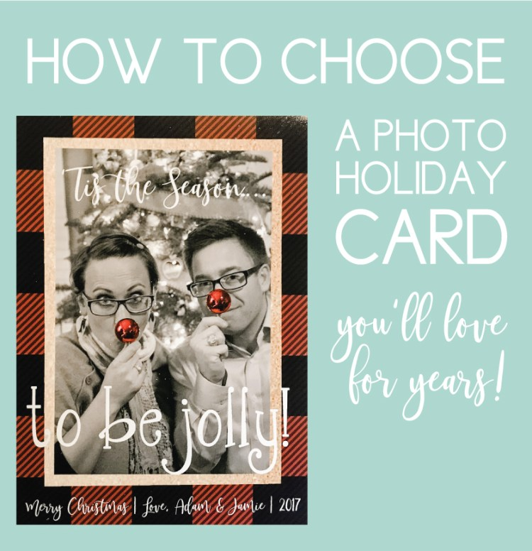 photo holiday card you'll love