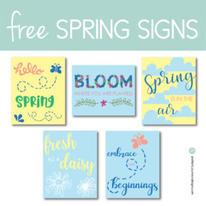 Download free Spring signs on the Journey Junkies page