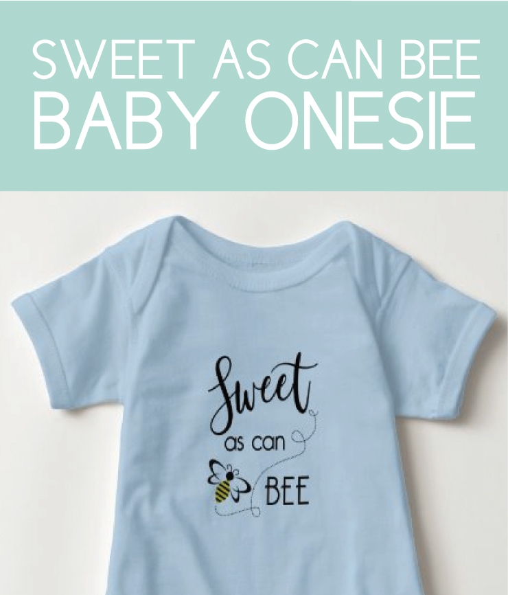 Sweet as can be Baby Onesie