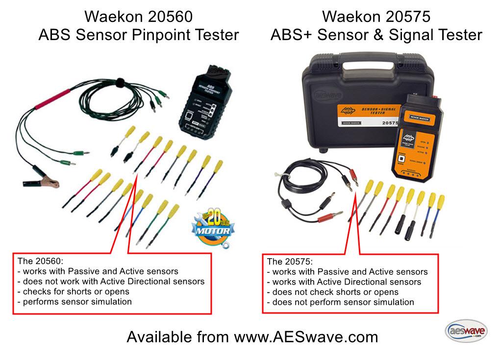 Sensor Abs Tester Wheel