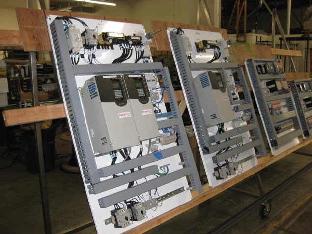 VFDs, Control Cabinets