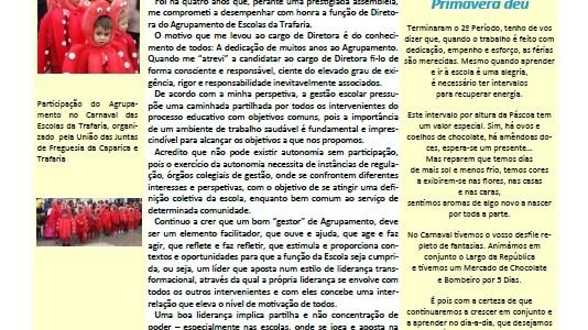 "Jornal: ""A Chaminé"" 2º Período de 2017/18"
