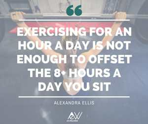 Exercise is not enough quote