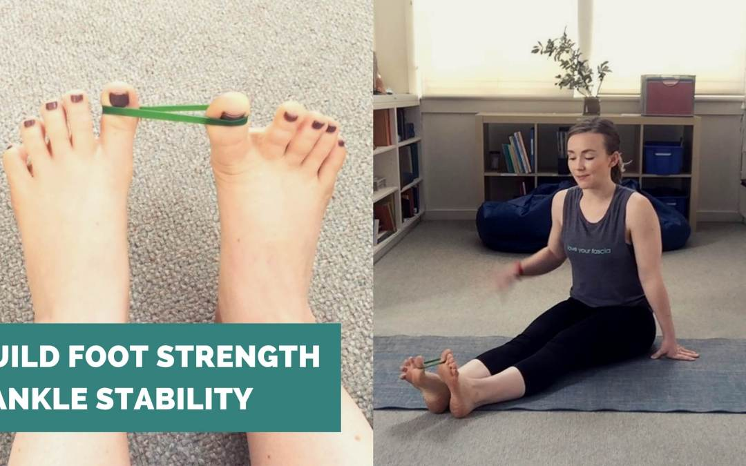 Build Foot and Ankle Stability (Ankle Sprain Rehab!)