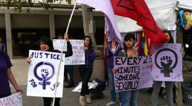 AF3IRM CONDEMNS NEGLECT OF WOMEN'S SAFETY ON CAMPUSES, DEMANDS VAW-FREE CAMPUSES.