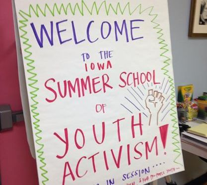 Midwest | Summer School of Youth Activism in Iowa!