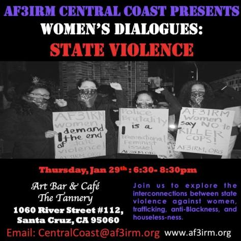 Central Coast Women's Dialogues: State Violence