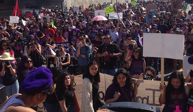 Women's March Shuts Down Streets of Los Angeles in the Name of Justice and Liberation