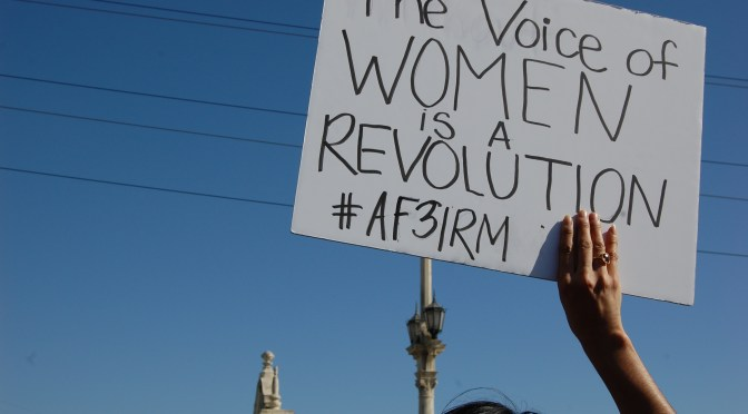 AF3IRM's 2015 Calendar for 16 Days of Activism Against Gender-Based Violence