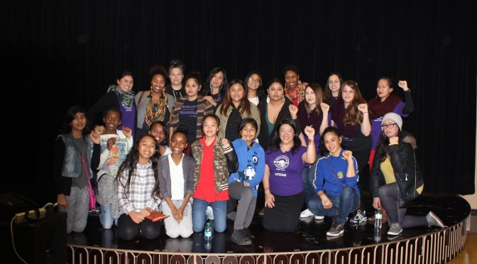 Purple Rose Day 2016: Radical Love and Work for Women's Liberation