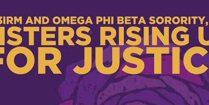 AF3IRM and Omega Phi Beta Sorority, Inc. – Sisters Rise up for Justice!  OPBSI Raise $10K for AF3IRM at 5th Annual Ray of Hope Walk, Partner for Purple Rose Day