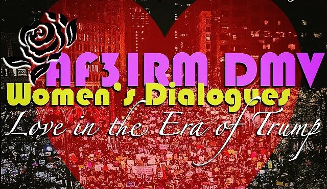 AF3IRM DMV Rises in Resistance to the Era of Trump