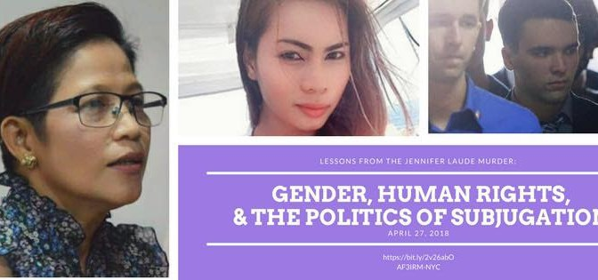 Lessons From the Jennifer Laude Murder: On Women, LGBTQ and Human Rights