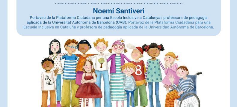 Xerrada: L'escola del Segle XXI: Un model d'escola inclusiva