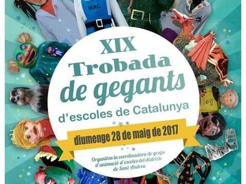 XIX Trobada de Gegants d'Escoles de Catalunya 2017