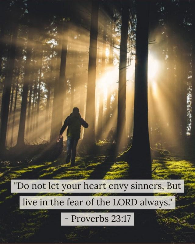 Proverbs 23:17