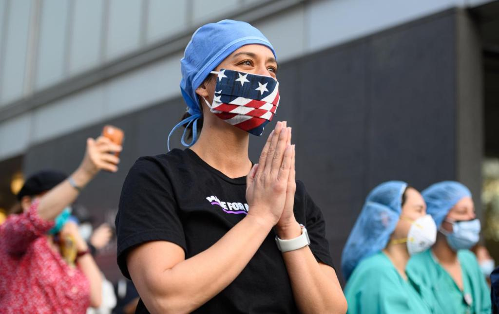 A new faith: Study finds young turning to prayer, spiritual questions during pandemic