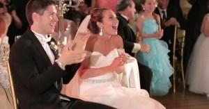Skylar Daniels mariage flash mob
