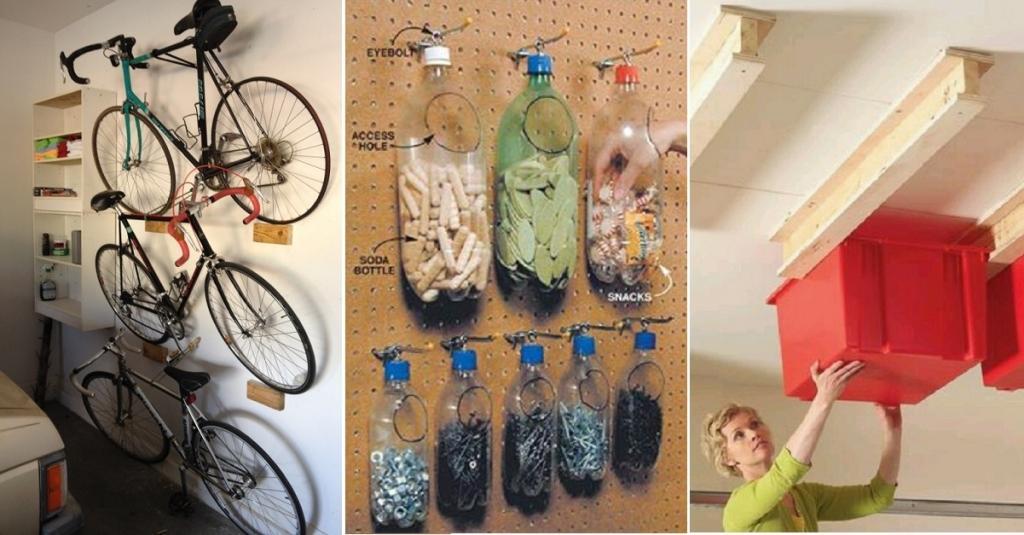Plus De 30 Astuces Pour Avoir Un Garage Parfaitement Organisé Et Rangé ! ⋆  Trucs Et Astuces à Faire à La Maison