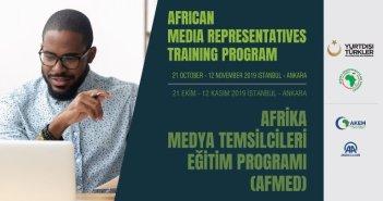 Afrika Medya Temsilcileri Eğitimi Programı (AFMED) Başlıyor…