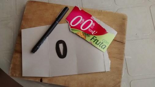 9 - SEPPA (arandela ovalada).- Realización de plantilla de cartón, (hacer dos piezas).