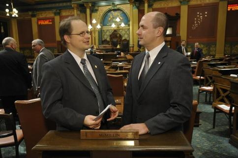 Rep. Tom McMillin and Gary Glenn