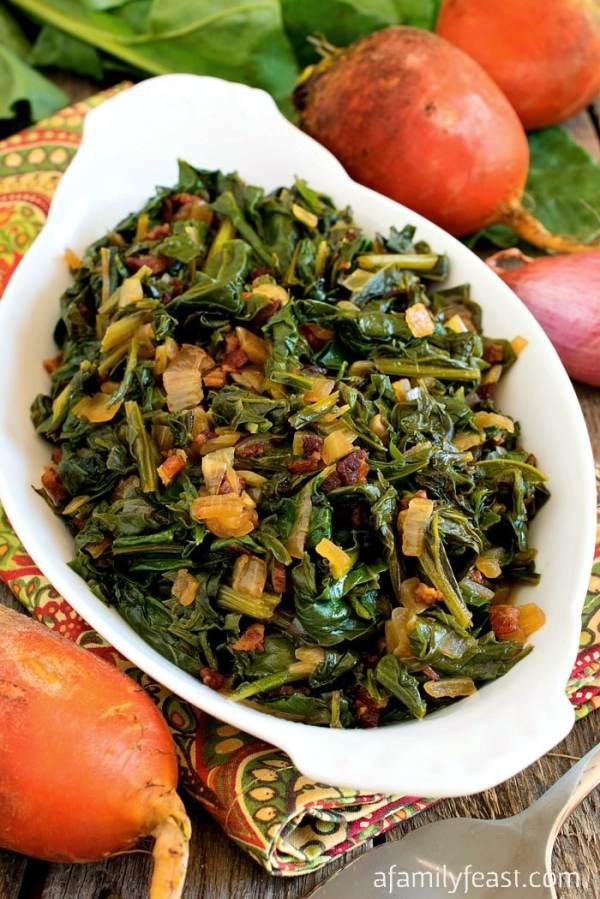Sautéed Beet Greens A Family Feast