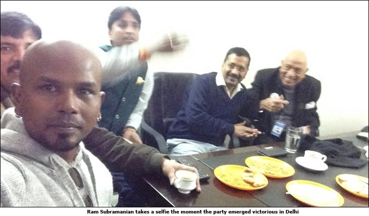 Image result for ram subramanian aap