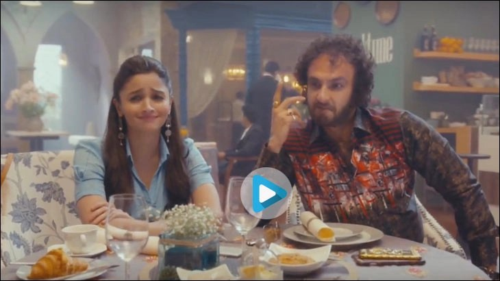 Alia Bhatt and Ranveer Singh in a film for MakeMyTrip