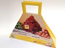 Výroba reklamních papírových tašek pro Lipton