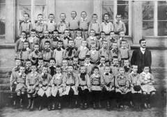 Photo de classe aux écoles Schneider